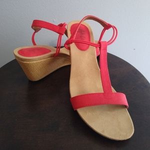 Style & Co NWOT  red shoes